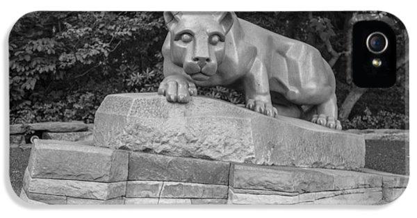 Penn State University iPhone 5s Case - Nitty Lyon  by John McGraw