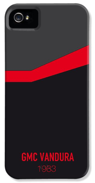 Austin iPhone 5s Case - No023 My Ateam Minimal Movie Car Poster by Chungkong Art