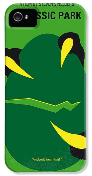 No047 My Jurassic Park Minimal Movie Poster IPhone 5s Case by Chungkong Art