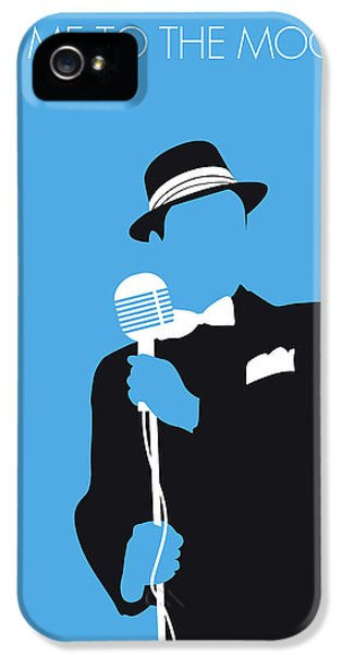 1950s iPhone 5s Case - No059 My Sinatra Minimal Music Poster by Chungkong Art