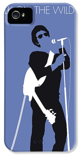 Fairy iPhone 5s Case - No068 My Lou Reed Minimal Music Poster by Chungkong Art