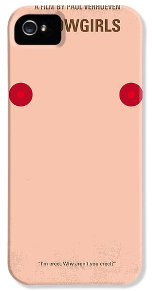 Cheetah iPhone 5s Case - No076 My Showgirls Minimal Movie Poster by Chungkong Art