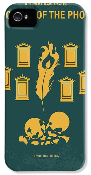 No101-5 My Hp - Order Of The Phoenix Minimal Movie Poster IPhone 5s Case