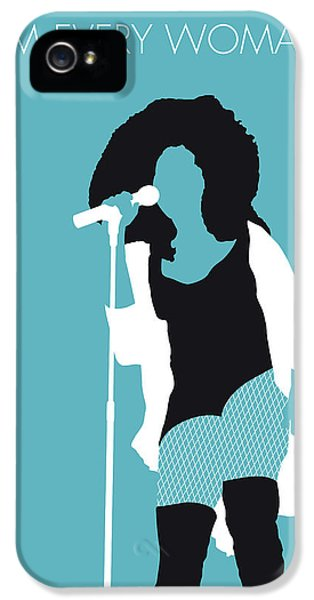 Rhythm And Blues iPhone 5s Case - No155 My Chaka Khan Minimal Music Poster by Chungkong Art