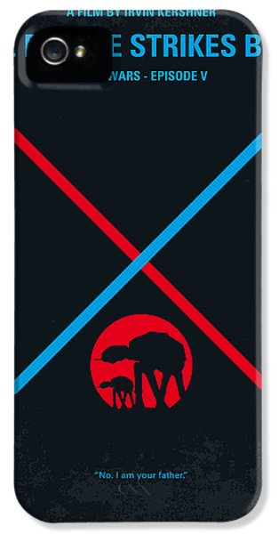 No155 My Star Wars Episode V The Empire Strikes Back Minimal Movie Poster IPhone 5s Case