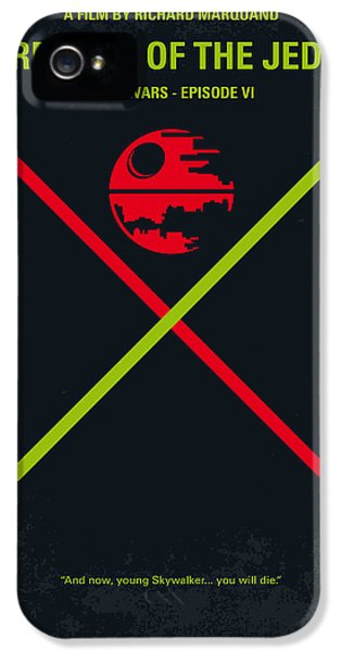 No156 My Star Wars Episode Vi Return Of The Jedi Minimal Movie Poster IPhone 5s Case