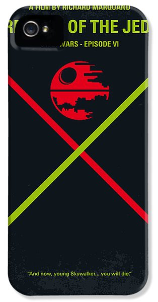 No156 My Star Wars Episode Vi Return Of The Jedi Minimal Movie Poster IPhone 5s Case by Chungkong Art