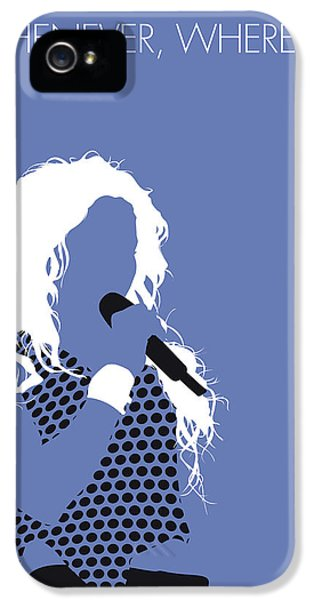 Shakira iPhone 5s Case - No168 My Shakira Minimal Music Poster by Chungkong Art
