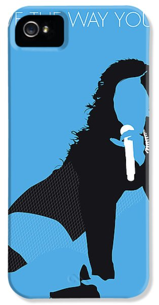 Rihanna iPhone 5s Case - No179 My Rihanna Minimal Music Poster by Chungkong Art