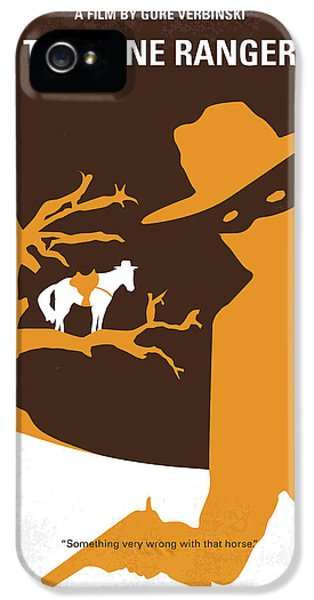 No202 My The Lone Ranger Minimal Movie Poster IPhone 5s Case by Chungkong Art