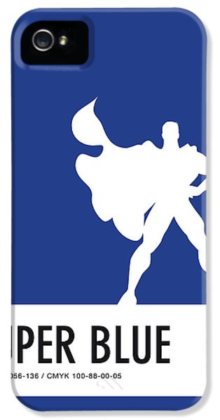 Spider iPhone 5s Case - No23 My Minimal Color Code Poster Superman by Chungkong Art