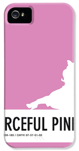Frogs iPhone 5s Case - No26 My Minimal Color Code Poster Piggy  by Chungkong Art