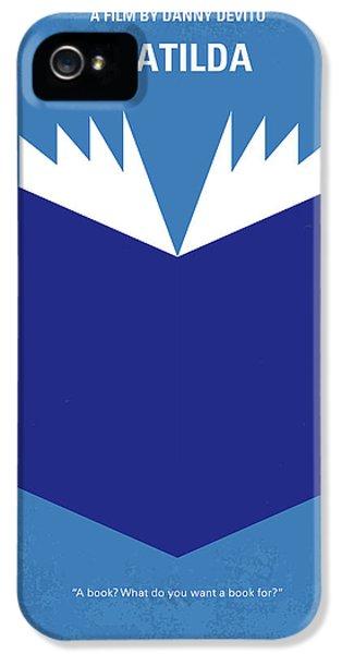 Magician iPhone 5s Case - No291 My Matilda Minimal Movie Poster by Chungkong Art