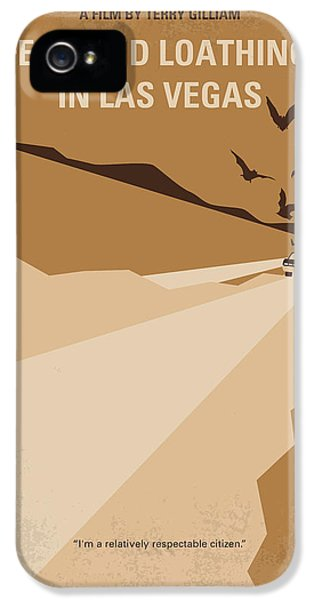 No293 My Fear And Loathing Las Vegas Minimal Movie Poster IPhone 5s Case by Chungkong Art