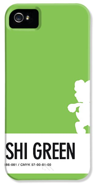 Daisy iPhone 5s Case - No36 My Minimal Color Code Poster Yoshi by Chungkong Art