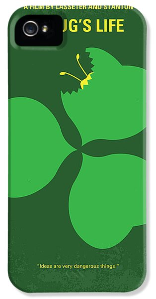 No401 My A Bugs Life Minimal Movie Poster IPhone 5s Case by Chungkong Art