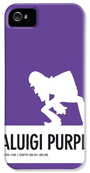 Daisy iPhone 5s Case - No42 My Minimal Color Code Poster Waluigi by Chungkong Art