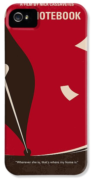 No440 My The Notebook Minimal Movie Poster IPhone 5s Case by Chungkong Art