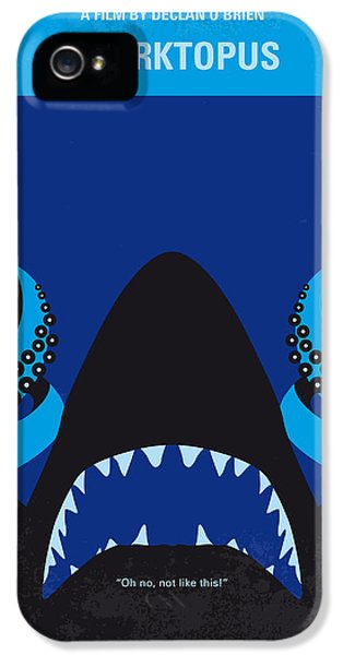 No485 My Sharktopus Minimal Movie Poster IPhone 5s Case