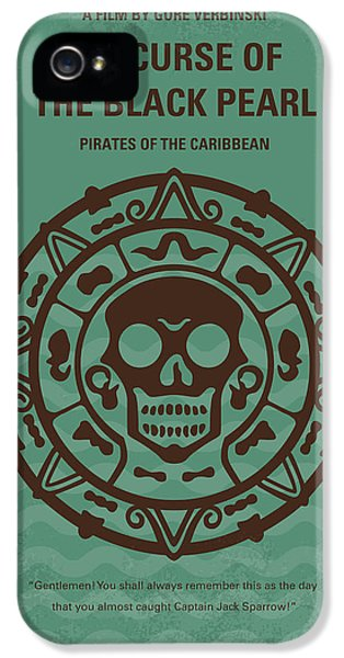 No494-1 My Pirates Of The Caribbean I Minimal Movie Poster IPhone 5s Case