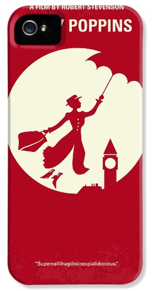 No539 My Mary Poppins Minimal Movie Poster IPhone 5s Case by Chungkong Art