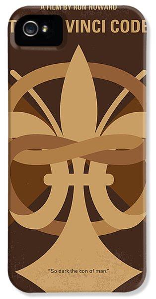 No548 My Da Vinci Code Minimal Movie Poster IPhone 5s Case by Chungkong Art