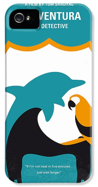 No558 My Ace Ventura Minimal Movie Poster IPhone 5s Case by Chungkong Art