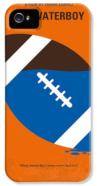 Football iPhone 5s Case - No580 My The Waterboy Minimal Movie Poster by Chungkong Art