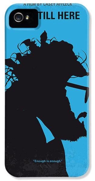 Phoenix iPhone 5s Case - No637 My I Am Still Here Minimal Movie Poster by Chungkong Art