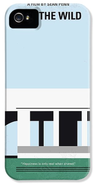 No677 My Into The Wild Minimal Movie Poster IPhone 5s Case