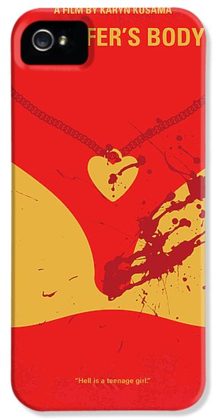 Kettles iPhone 5s Case - No698 My Jennifers Body Minimal Movie Poster by Chungkong Art