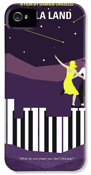 Jazz iPhone 5s Case - No756 My La La Land Minimal Movie Poster by Chungkong Art