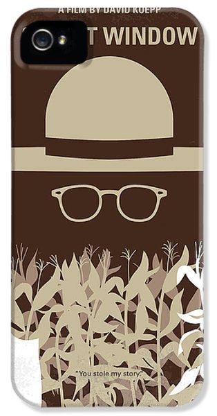 Johnny Depp iPhone 5s Case - No830 My Secret Window Minimal Movie Poster by Chungkong Art