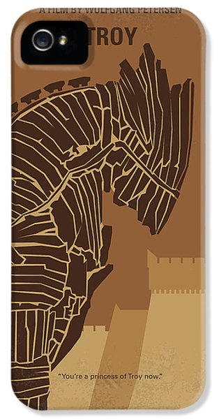 No862 My Troy Minimal Movie Poster IPhone 5s Case