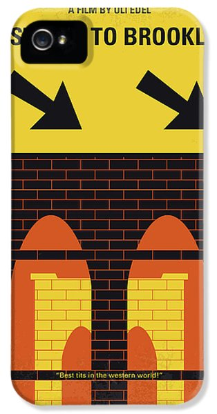 1950s iPhone 5s Case - No879 My Last Exit To Brooklyn Minimal Movie Poster by Chungkong Art