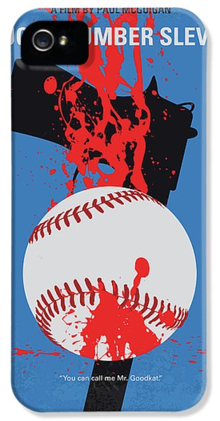 Fairy iPhone 5s Case - No880 My Lucky Number Slevin Minimal Movie Poster by Chungkong Art