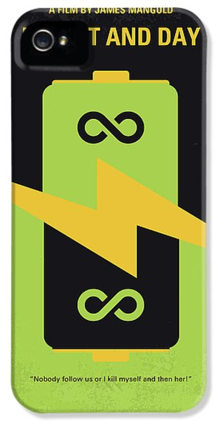 Knight iPhone 5s Case - No899 My Knight And Day Minimal Movie Poster by Chungkong Art