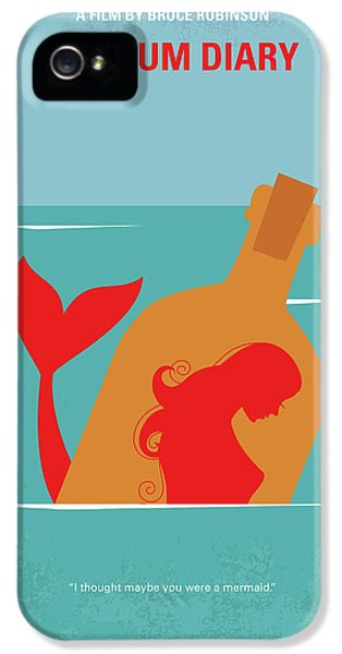 Johnny Depp iPhone 5s Case - No925 My The Rum Diary Minimal Movie Poster by Chungkong Art