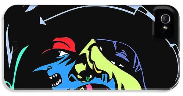 Biggie iPhone 5s Case - Notorious B.i.g. Full Color by Kamoni Khem
