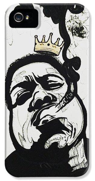 Biggie iPhone 5s Case - Notorious by Chris Kilzer