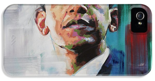 Obama IPhone 5s Case by Richard Day