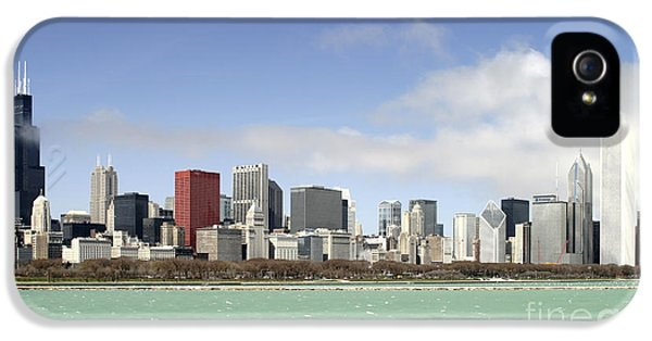 Off The Shore Of Chicago IPhone 5s Case by Ricky L Jones