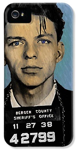Old Blue Eyes - Frank Sinatra IPhone 5s Case