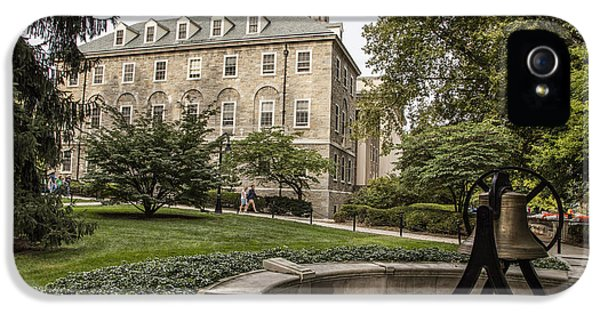 Penn State University iPhone 5s Case - Old Main Penn State Bell  by John McGraw