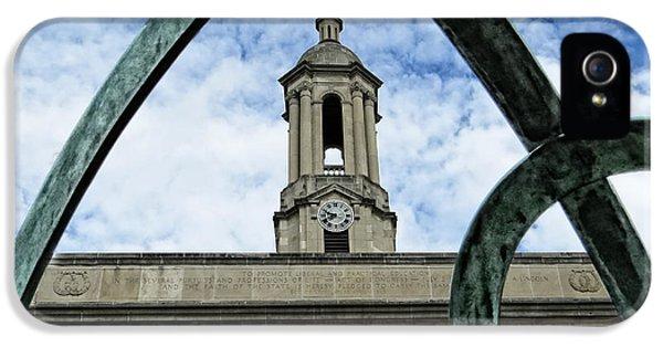 Penn State University iPhone 5s Case - Old Main Thru The Turtle by Dawn Gari