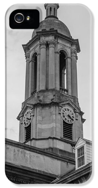 Old Main Tower Penn State IPhone 5s Case by John McGraw