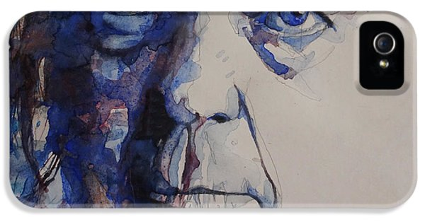 Old Man - Neil Young  IPhone 5s Case by Paul Lovering