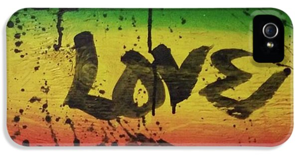 iPhone 5s Case - One Love, Now More Than Ever By by Eyeon Energetic