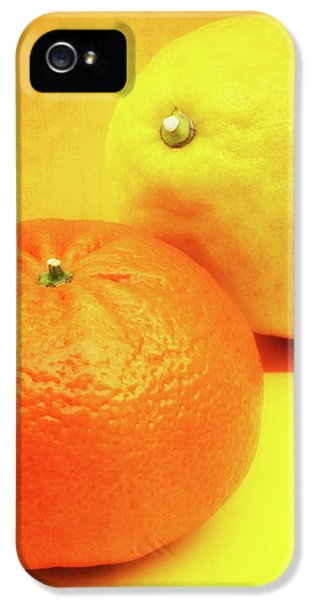 Orange And Lemon IPhone 5s Case by Wim Lanclus