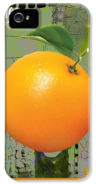 Orange Collection IPhone 5s Case
